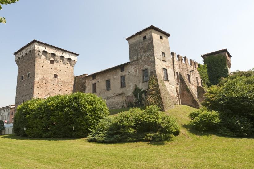 Romano di Lombardia (Italy). medieval castle